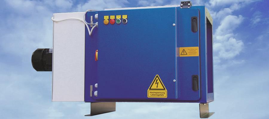 Elektrostatické filtrační soustavy